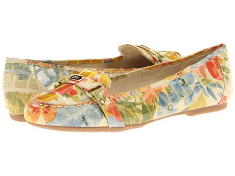 Balerini Anne Klein - 7Sadya - Yellow Multi Floral Croc