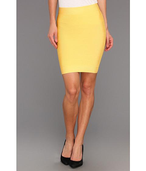 Fuste BCBGMAXAZRIA - Signature Full Needle Skirt - Bamboo