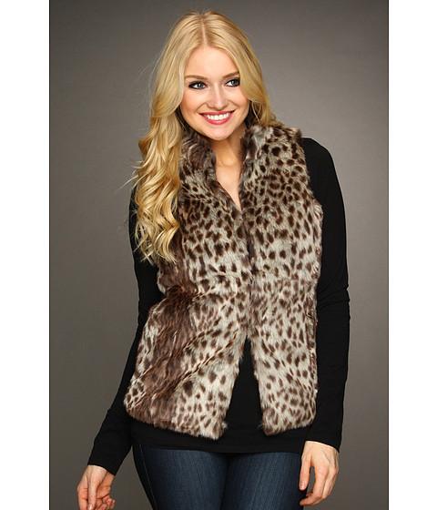 Jachete Gabriella Rocha - Sonia Cheetah Fur Vest - Brown