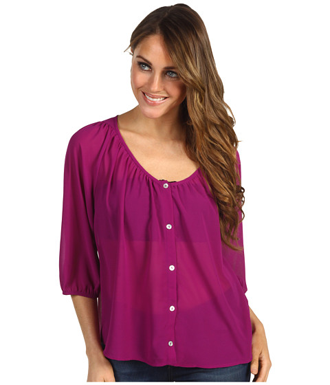 Bluze Christin Michaels - Lenni Blouse - Raspberry
