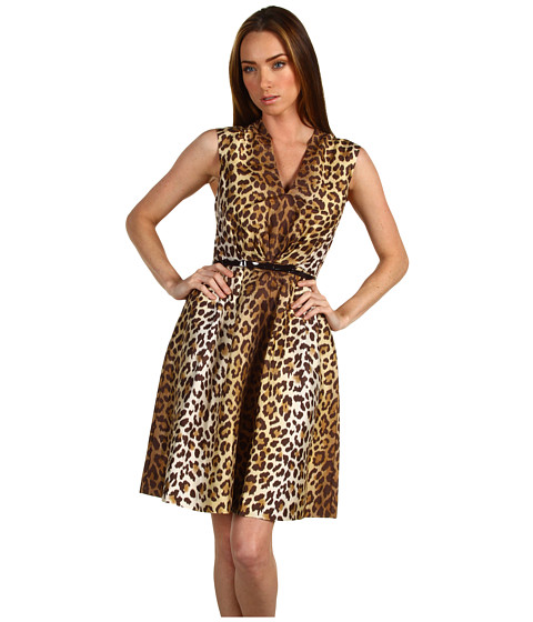 Rochii Kate Spade New York - Roxanne Dress - Leopard Ikat