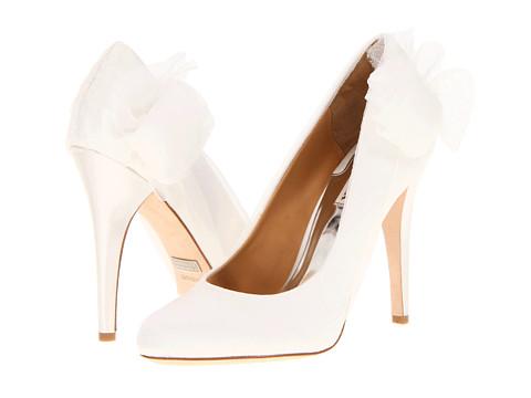Pantofi Badgley Mischka - Ciri - White Satin 2