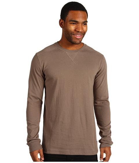 Tricouri Quiksilver - Snit L/S Shirt - Carbon
