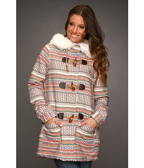 Jachete Roxy - Chestnut Way Jacket (Juniors) - Cream Stripe
