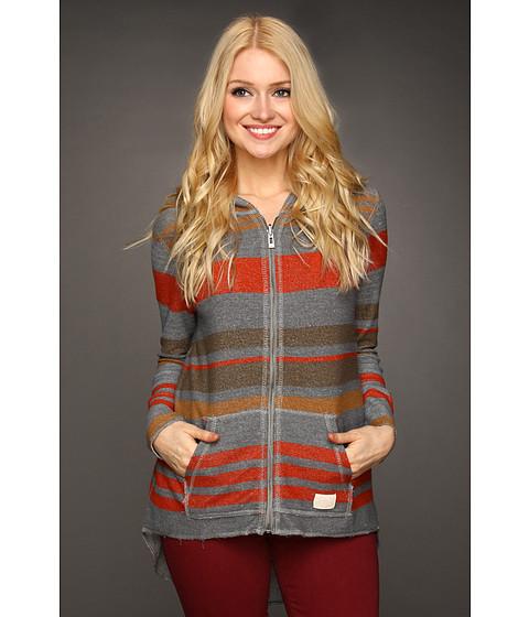 Bluze ONeill - Autumn Reversible Zip Hoodie - Heather Grey