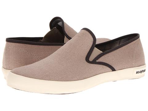 Pantofi SeaVees - 02/64 Baja Slip On Core - Flax Vintage Wash Linen