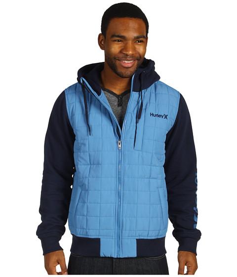 Bluze Hurley - Dual Zip Fleece - True Navy