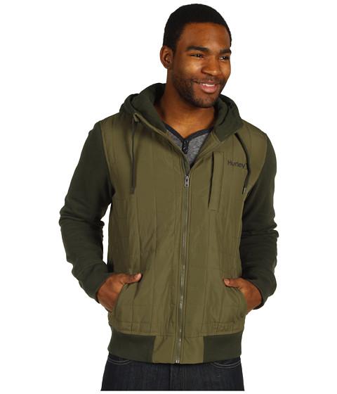 Bluze Hurley - Dual Zip Fleece - Utility Green