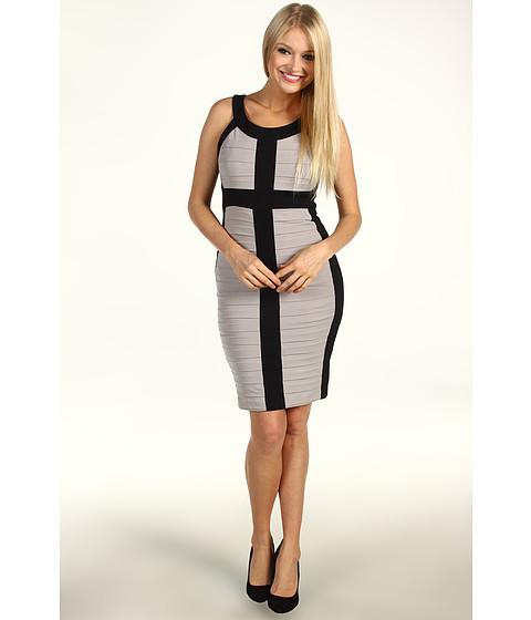 Rochii Jax - Colorblock S/L Dress - Black/Ash