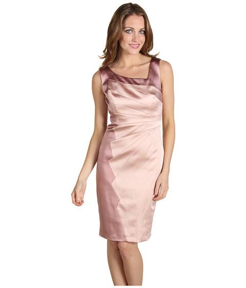 Rochii Jax - Spliced Sleeveless Dress - Blosson/Lotus