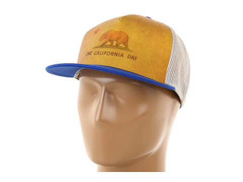 Sepci Toes on the Nose - One California Dayâ⢠Trucker Hat - Cobalt