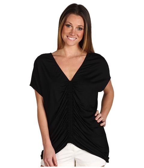 Bluze Trina Turk - Fintan Double V Blouse - Black