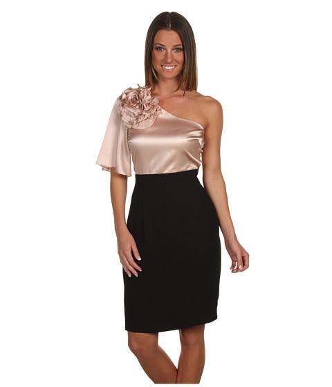 Rochii Trina Turk - Belle De Nuit Flower Dress - Pink Champagne