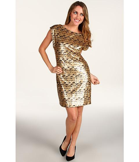 Rochii Trina Turk - Breene Sequin Dress - Gold