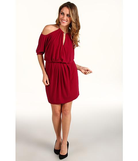 Rochii Trina Turk - High Brow Cold Shoulder Dress - Mulberry