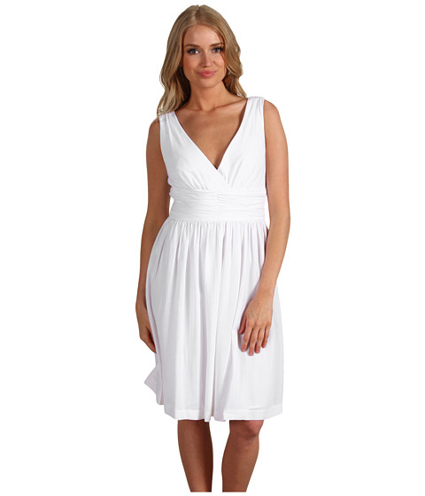Rochii Trina Turk - Reina Sleeveless Dress - Blanca