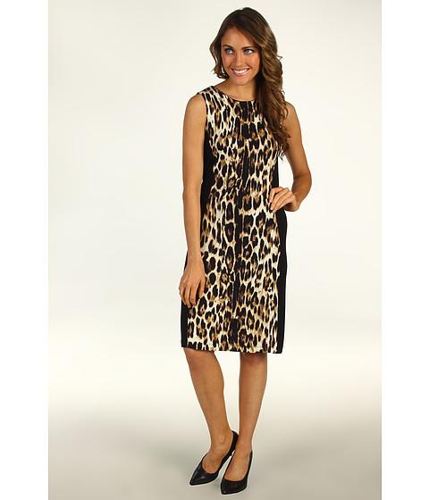 Rochii Karen Kane - Wild Cheetah Panel Dress - Cheetah