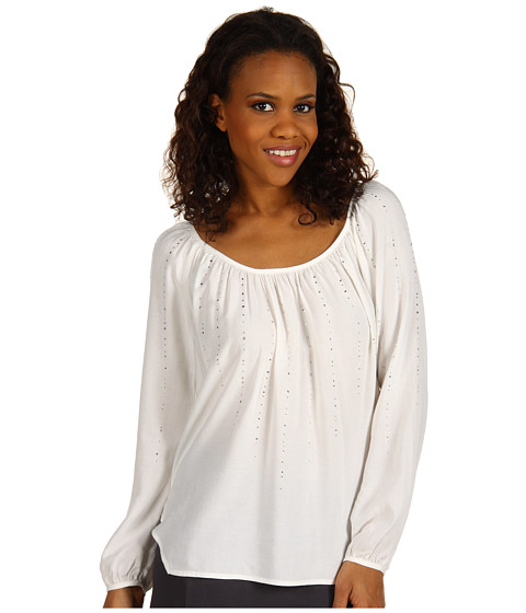Bluze Karen Kane - Blouson Sleeve Top With Crystals - Off White