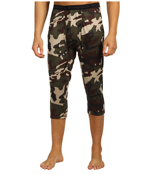 Pantaloni The North Face - AC Skull Horn Camo Boot Top Bottom - Fig Green