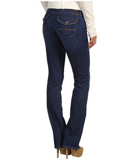 Blugi Lucky Brand - Cate Mini Bootcut Flap Jean in Medium Savage - Medium Savage