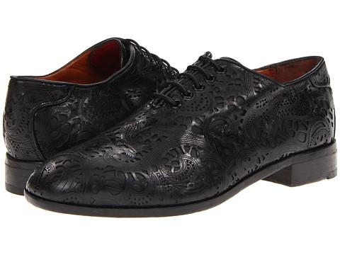 Pantofi Florsheim by Duckie Brown - Lace Saddle Shoe - Black
