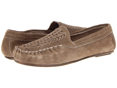 Pantofi Florsheim by Duckie Brown - The Moccasin Woven - Mouse Gray