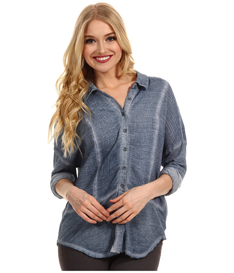 Bluze Free People - Zahara Buttondown Shirt - Slate