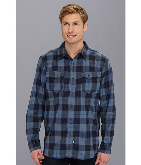 Camasi The North Face - L/S Take Flannel - China Blue Plaid