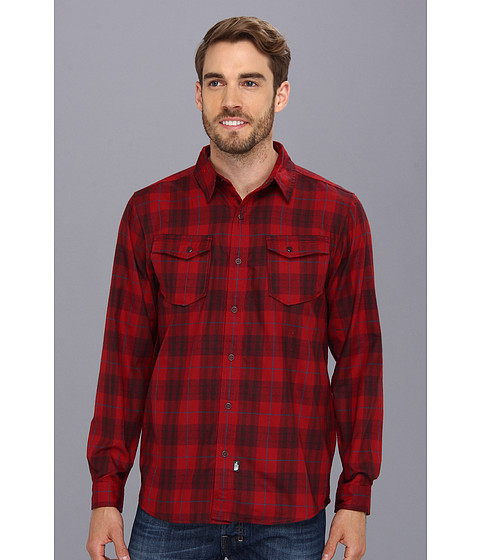 Camasi The North Face - L/S Take Flannel - Biking Red Plaid