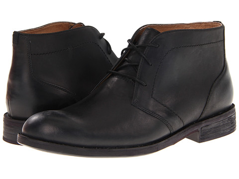 Ghete Clarks - Burns Hot - Black Nubuck