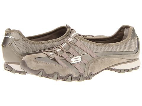 Adidasi SKECHERS - Bikers - Point Blank - Taupe