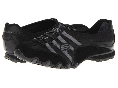Adidasi SKECHERS - Bikers - Point Blank - Black