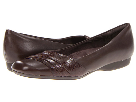 Balerini Clarks - Chateau State II - Dark Brown Leather