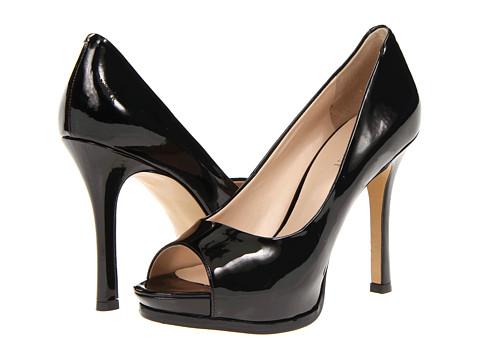 Pantofi Nine West - Miss - Black Synthetic