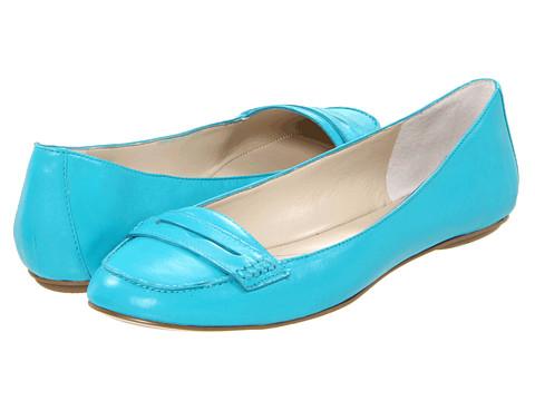 Balerini Nine West - OpenSesame - Turquoise Leather