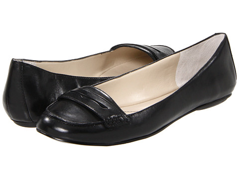 Balerini Nine West - OpenSesame - Black Leather