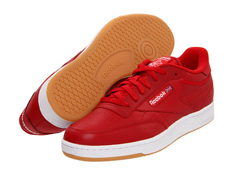 Adidasi Reebok - Club C Gum - Red/White/Gum