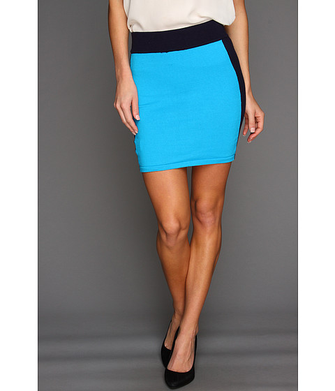 Pantaloni Gabriella Rocha - Marlen Color Block Mini Skirt - Blue/Navy