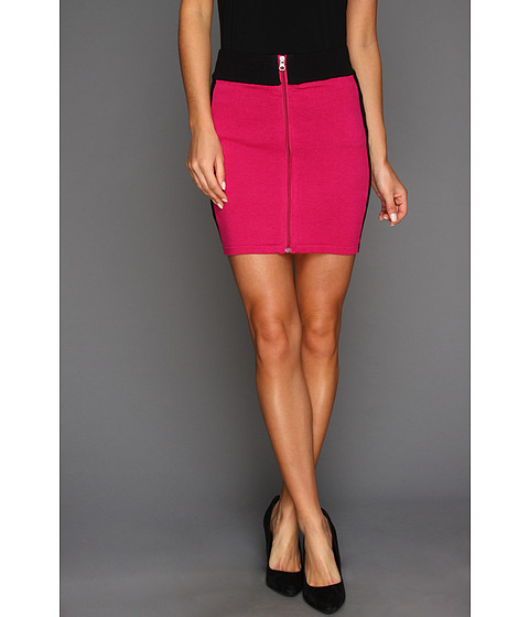Pantaloni Gabriella Rocha - Marlen Color Block Mini Skirt - Pink/Black