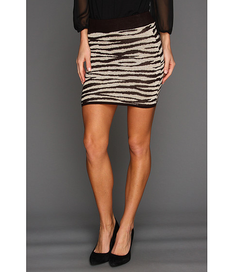 Pantaloni Gabriella Rocha - Meena Zebra Mini Skirt - Brown/Mac