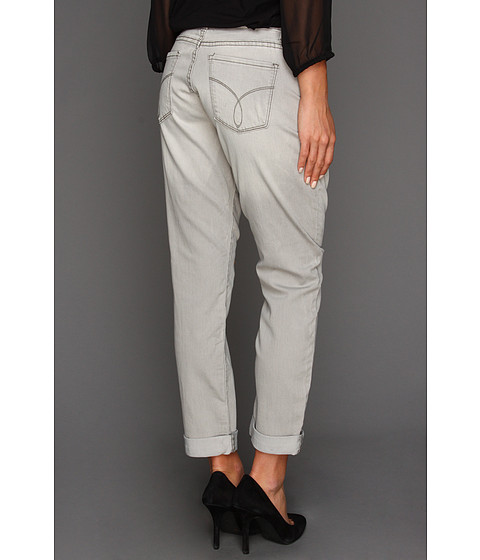 Blugi Calvin Klein Jeans - United Dragon Slim Boyfriend in Grey - Grey