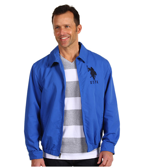 Jachete U.S. Polo Assn - Micro Golf Jacket with Big Pony - China Blue