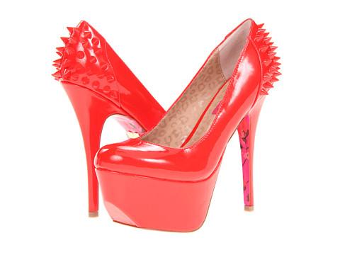 Pantofi Betsey Johnson - GGinger - Red Patent