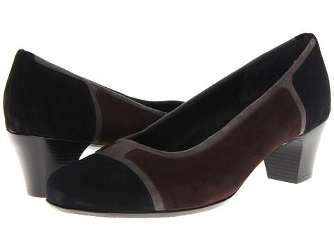 Pantofi Munro American - Jillian - Black Suede/Grey Suede/Brown Suede