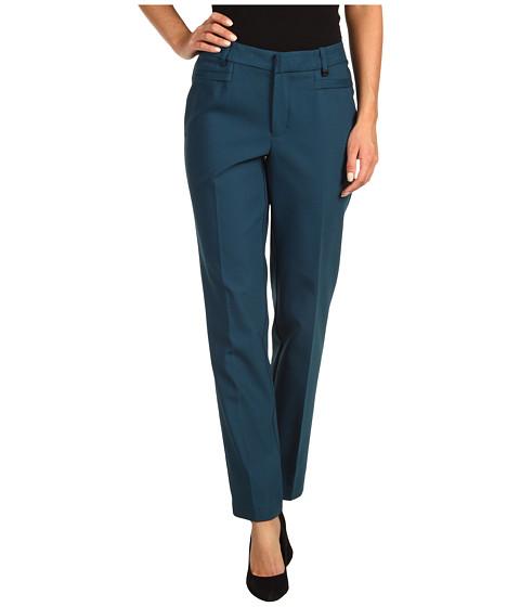 Pantaloni Calvin Klein - Ponte Slant Pocket Pant - Deep Sea