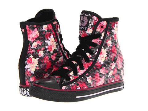 Adidasi SKECHERS - Daddy\s Money - Gimme - Black/Pink