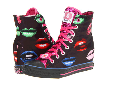 Adidasi SKECHERS - Daddy\s Money - Gimme Kisses - Black