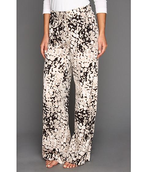 Pantaloni Calvin Klein - Printed Pant - Latte/Petal Multi