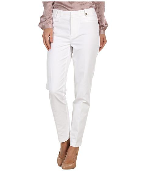 Pantaloni Calvin Klein - Slim Pant - Soft White