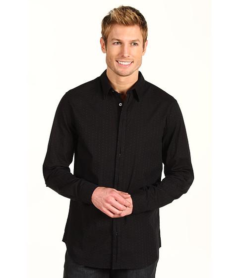 Camasi DKNY Jeans - L/S Dobby Jacquard Shirt - Black